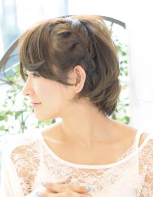 ショートヘア×編み込みアレンジカタログ