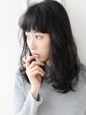 リラクシー抜け感スタイル☆コケティッシュハンサムミディ