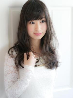 黒髪×透明感×ラフ☆かわいいヘア☆