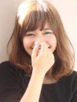 リラクシー抜け感スタイル☆柔らか質感のロブ