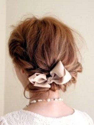 ねじり編み花冠
